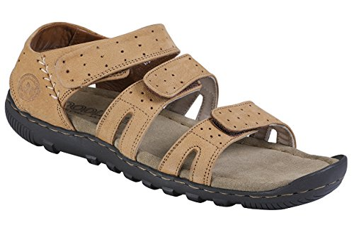 Woodland Men's Camel Sandals -8 UK/India (42 EU)(OGD 0823110)  available at amazon for Rs.1500