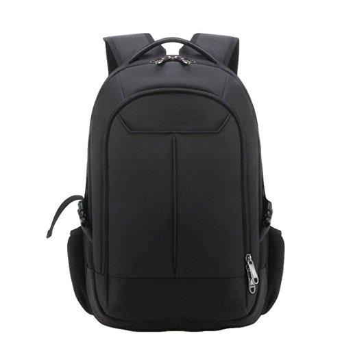 Business Schultern Tasche Wasserdichte Tasche Computer Tasche Reisebeutel Männer Rucksack Im Freien Einfach Wild Black