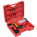 TsunNee Brake Bleed Kit, Hand Held Vacuum Pump Tester, Brake Fluid Bleeder Tool