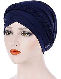 Christine Headwear Turban chimiothérapie Lotus en bambou (marron mélange) ·  EUR 44,50 Écran. F.lashes Femme Bonnet Musulmane Chimio Turban pour Cancer  Perte ... 923779219e6