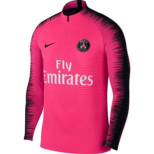 Nike Herren PSG M VPRKNIT STRKE DRIL Long Sleeved T-Shirt, Hyper pink/Black, L Prince Black Jacke