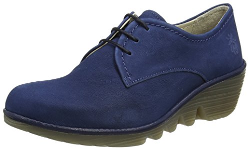 Fly London Pica605fly, Scarpe Stringate Donna Blu (blue/blue 010)