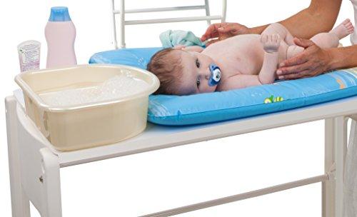Imagen 6 de Rotho Babydesign 20006 0020 Top - Palangana con 2 compartimentos, color azul oscuro