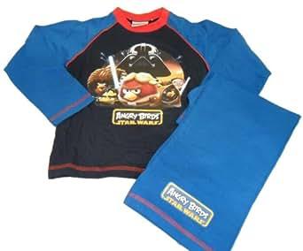 Angry Birds Jungen Schlafanzug Mehrfarbig bunt 5 Jahre