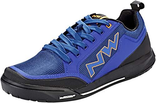 Northwave Clan MTB Dirt Fahrrad Schuhe blau/orange 2019: Größe: (Orange Und Blaue Schuhe)