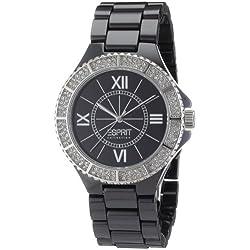 Esprit Damen-Armbanduhr Analog Edelstahl-Keramik EL101322F06