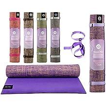 Sternitz Esterilla de Yoga ó Pilates Antiresbalante - Acolchada - Ecológica - Transportable.