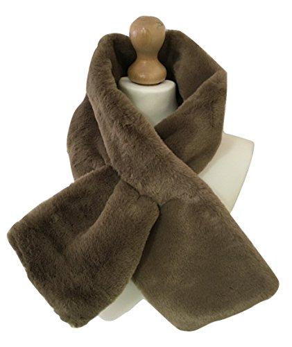 Generic - Ensemble bonnet, écharpe et gants - Femme Marron