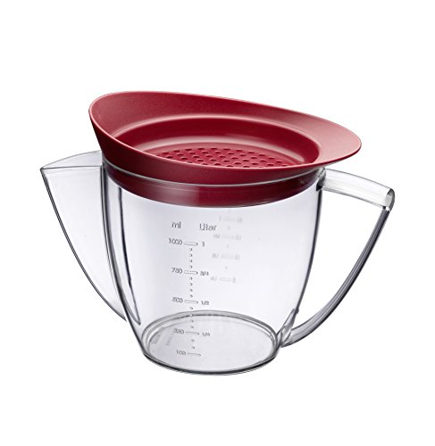fat-separator-jug-with-sieve-lid-1-litre-with-scale-markings-by-westmark