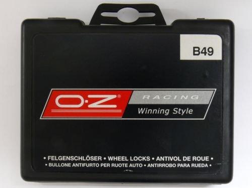OZ B66 OZ Radsicherungsbolzen 14x1,5x35 Kegelbolzen Schlüsselweite 17