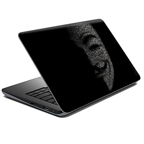 GADGETS WRAP Anonymous Masks Laptop Decal for 15.6 inch Laptop 15×10
