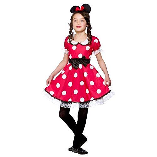 Wicked costumes - costume per halloween o carnevale da minnie, per bambina