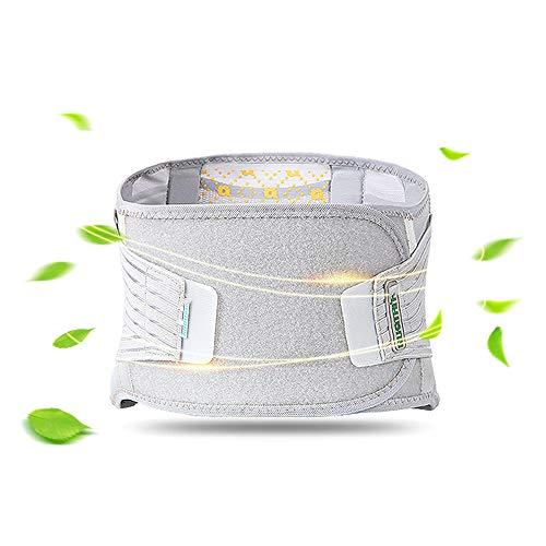 Preisvergleich Produktbild Posture Therapy Lumbal Belt - Untere Rückenstütze & Stützgürtel - Atmungsaktive Mesh-Panels,  Dual Verstellbare,  Slip-Free Straps - Leicht Und Low Profile Unter Kleidung