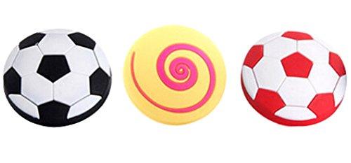 Preisvergleich Produktbild Set 3 Kinder Schlafzimmer Türgriffe Fußball-förmige Schubladengriffe