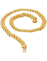 d40ff7234743a Voylla Voylla Designer Chain Necklace for Men (Golden) (8907617240268)