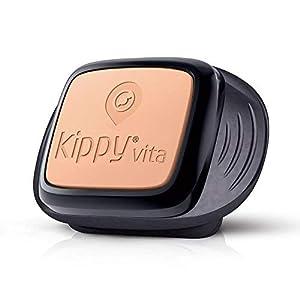 gps guardian: KIPPY Vita - Rastreador GPS de mascotas para perros y gatos, Negro (Black Guardi...