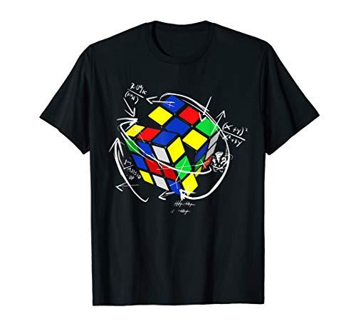 Rubik Cube Math T Shirt Funny Gifts for men women kids T-Shirt