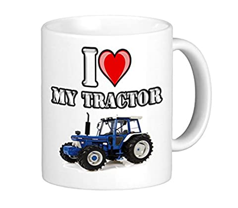 Mug I Love My Ford Tracteur