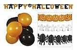Boland 74588Halloween Party Set, Orange/Noir/Blanc