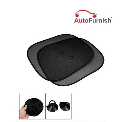 Car Auto Window Sun Shade Mesh Type Set of 2  available at amazon for Rs.99