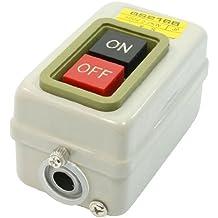 2 Posición Tres Fases encendido y apagado Cierre Interruptor Botón De Presión AC500V 15AMP
