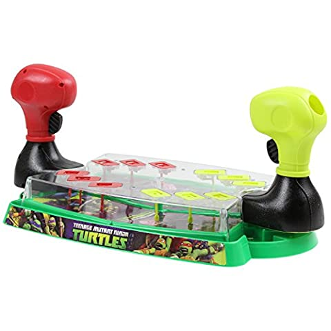 Teenage Mutant Ninja Turtles Pinball Battle Game Board Toy Children Kids Playset by Sambro