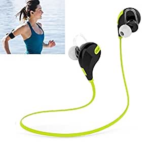 MVE(TM) Bluetooth Headset Bluetooth Headphones ACTISOUND, Noise Isolating Wireless Headset with Microphone, High Quality Stereo Sound - CSR V4.0 Chip - Sleek Custom Earbuds, Lightweight Design - Running, Jogger, Gym, Hiking, Extreme Sports - Pairs easy & Fits ALL MICROMAX ANDROID CELL PHONES