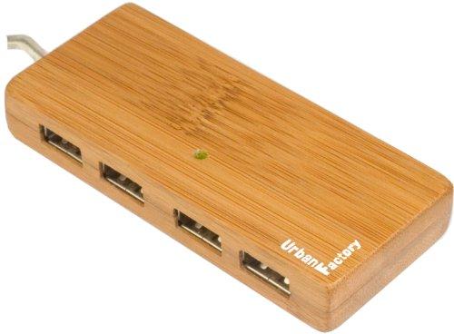 urban-factory-bamboo-mini-usb-20-hub-with-4-ports
