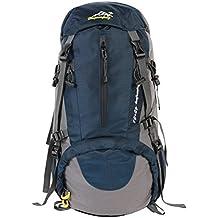 Outdoor Rucksack ,YOUGO Wasserdichter Rucksack herren Trekking Reiserucksack Trekkingrucksäcke mit einer Regenabdeckung