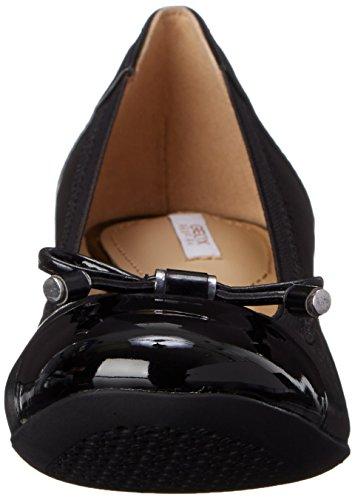 Geox D Carey A, Scarpe con Tacco Donna Nero (BLACKC9999)