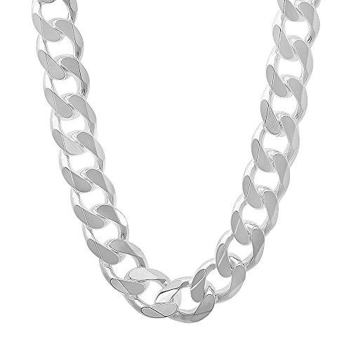 mens-11-mm-in-argento-sterling-925-con-catenina-rosso-cubano-argento-colore-argento-cod-nec707-26