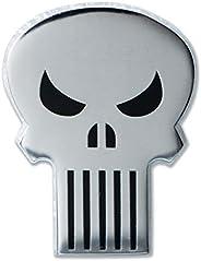 """Ata-Boy Marvel Comics Punisher Skull 3/4"""" Full Color Ename"""