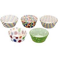 Kitchen Craft KCCCASST250BR Sweetly Does It - Juego de fundas para magdalenas y cupcakes (250 unidades, papel), diseño de estampados variados