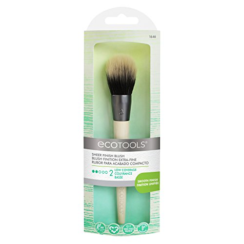 Ecotools Sheer Finish Blush Brocha para Colorete - 1 Unidad