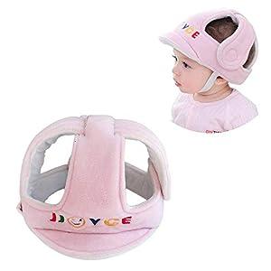 Bebé Protector de Cabeza, Respirable Casco de Seguridad, Niño Tapa de Protección Arneses Sombrero para Infantile Pequeño… 8