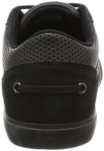 Lacoste Bayliss Vulc Premium Homme Baskets Mode Noir Noir