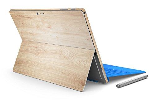 ChasBete Oberfläche Pro 3 Aufkleber Haut Holzmaserung Schutz Vinyl Aufkleber Abdeckung Präzision Einfach für Microsoft Surface Pro 3