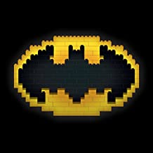 DC Comics LEGO Batman Bat símbolo impresión de Lienzo, 30x 30cm, multicolor