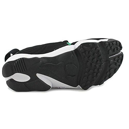 Nike Herren Air Rift Qs Laufschuhe, Talla Schwarz / Rot / Grün / Weiß (Schwarz / Atom Red-Wald-weiß)