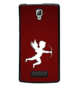 Vizagbeats white color cupid Back Case Cover for LENOVO A2010