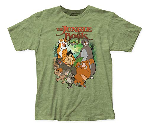 Jersey Tee (YingaiOK The Jungle Book Main Characters Fitted Jersey Tee)
