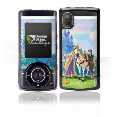 LG KM500 Case Skin Sticker aus Vinyl-Folie Aufkleber Disney Rapunzel ? Neu verföhnt Merchandise Geschenke