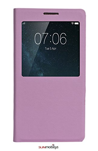 Sun Mobisys®; Vivo V3 Flip Cover; Flip Cover for Vivo V3 Pink