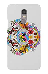 Cell Planet's Designer Printed Mobile Back Cover Compatible for Lenovo K6 Note