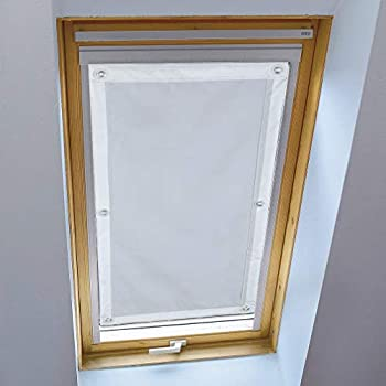 TOP KIN 38 * 75cm Sonnenschutz Dachfensterrollo ohne