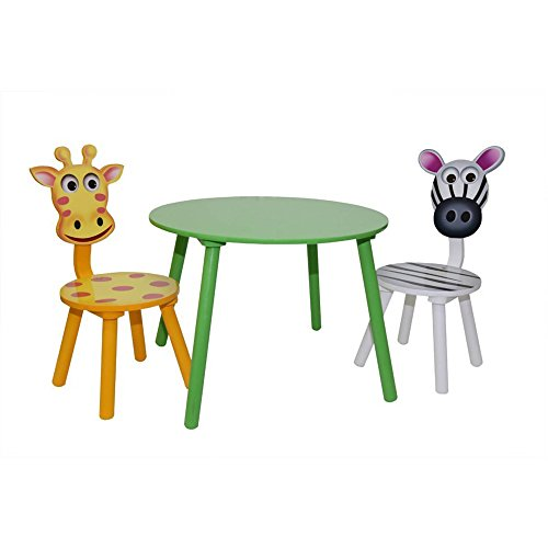 HTI-Line Kindertischgruppe Zebra Tisch und 2 Stühle Kindermöbel Kinderstuhl NEU OVP -