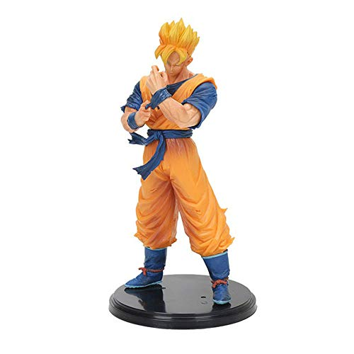 Dragon Ball Z Goku Super Saiyan Awakening Gohan Father Trunks Vegeta Pvc Anime Figure Dbz Collection Model 17cm Action & Toy Figures
