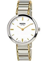 Boccia Damen-Armbanduhr Analog Quarz Titan 3252-03