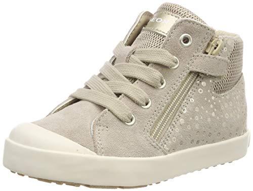 Geox Baby Mädchen B Kilwi Girl G Sneaker, Beige (Beige/Gold C0871), 25 EU