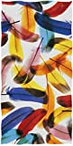 gfhfdjhf Plumas de pájaros realistas Suaves Altamente absorbentes Toallas de Mano Decorativas Grandes Multipropósito para baño, Hotel, Gimnasio y SPA 12'x 27.5'